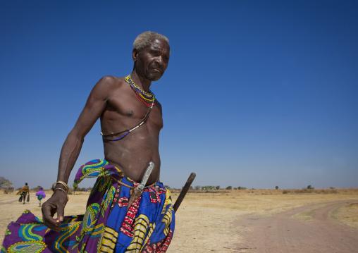 Mumuhuila Old Man, Huila Area, Angola