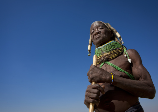 Old Mumuhuila Woman, Hale Village, Angola