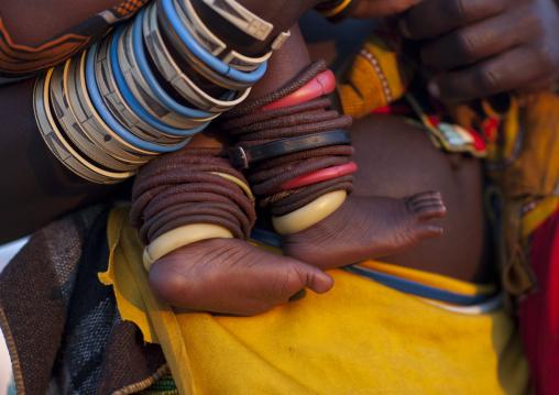 Mucawana Bracelets, Village Of Oncocua, Angola
