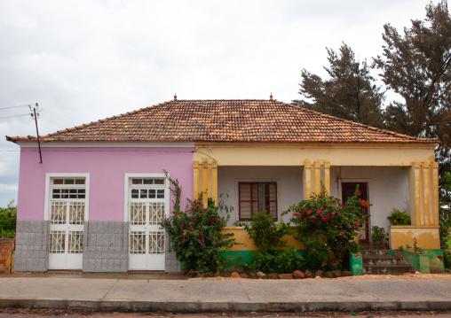 Old portuguese colonial house, Huila Province, Lubango, Angola
