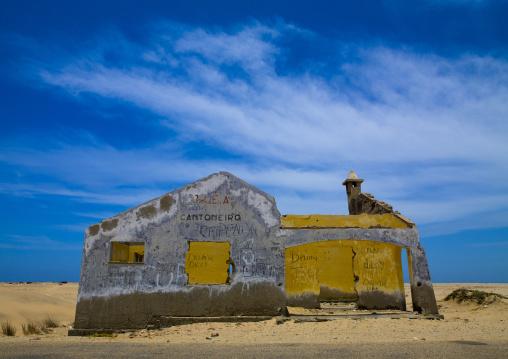 Road Menders House In Tombwa, Angola