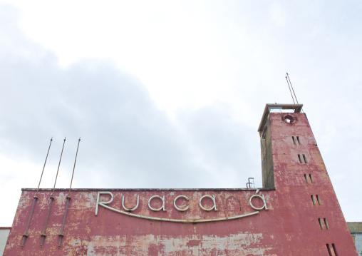 Old Dilapidated Cinema Theater In Huambo, Angola