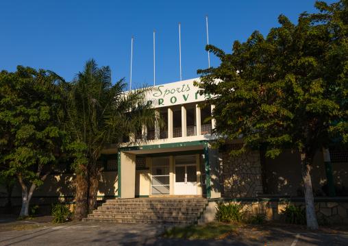 The old clube ferroviaro, Benguela Province, Lobito, Angola