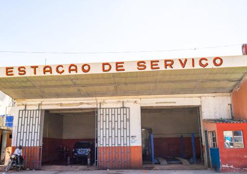 Car garage, Huila Province, Lubango, Angola