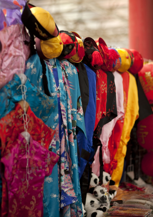 Clothes At Panjiayuan Antique Market, South Chaoyang. Beijing, China