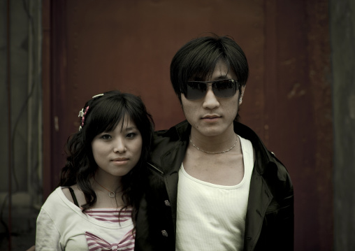 Young Fashionnable Couple, Beijing China