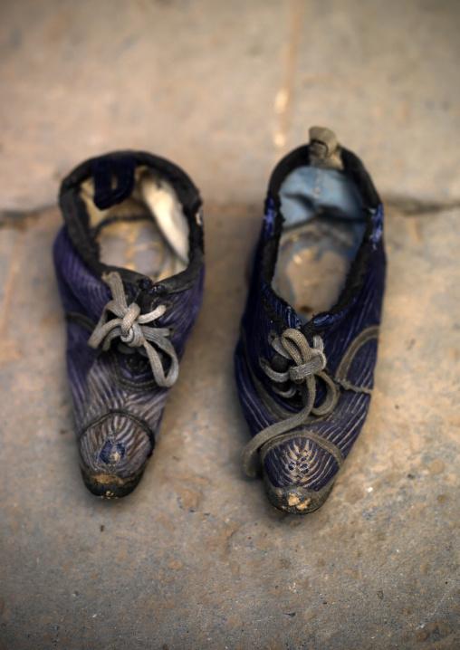 Bound Feet Shoes, Tuan Shan Village, Yunnan Province, China