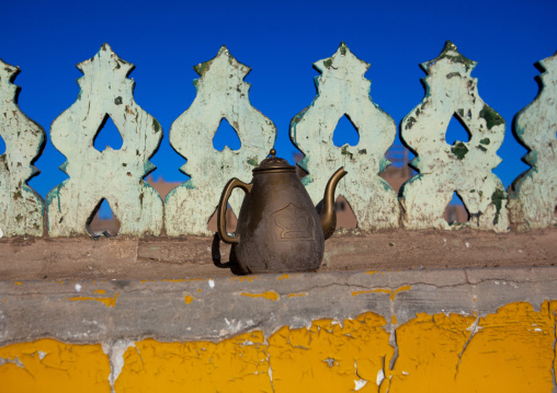 water Pot On The Roof Of A Mosque In The Old Town Of Kashgar, Xinjiang Uyghur Autonomous Region, China