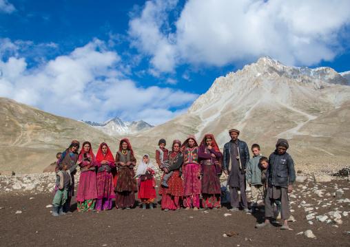 Wakhi nomad family, Big pamir, Wakhan, Afghanistan