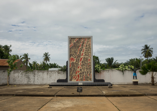 Benin, West Africa, Ouidah, memorial on the slave trail