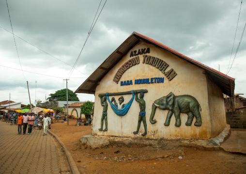 Benin, West Africa, Savalou, baba hounleton vodoo temple