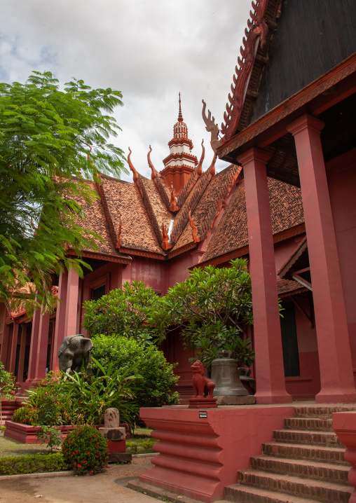 The national museum, Phnom Penh province, Phnom Penh, Cambodia