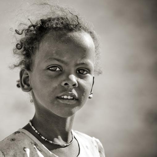 Young Afar Girl, Obock, Djibouti