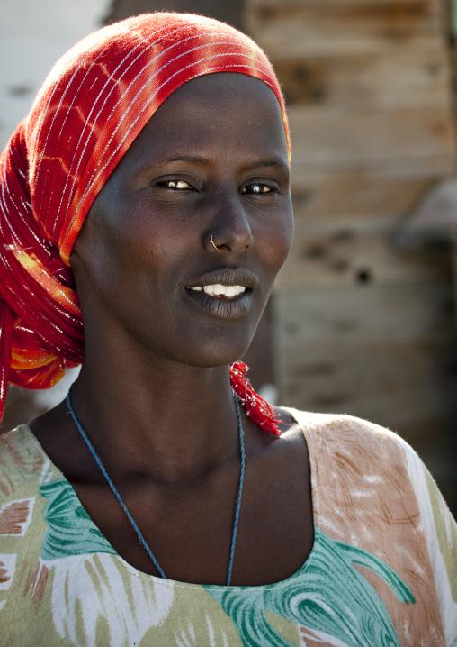 Afar Woman, Obock, Djibouti
