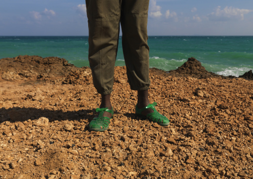 Man On Caral, Obock, Djibouti