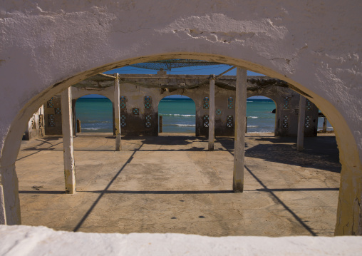 Restaurant Destroyed By The Civil War, Obock, Djibouti