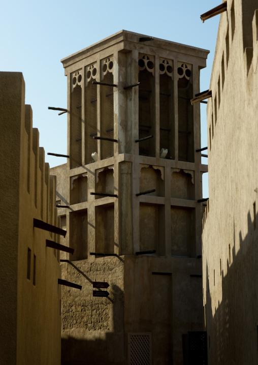 Wind Towers In Bastakiya Quarter, Dubai