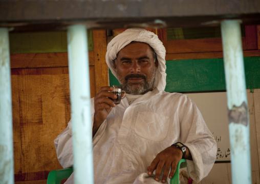 Captain On His Dhow, Creek Dubai