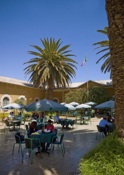 Casa Degli Italiani  Restaurant, Asmara, Eritrea