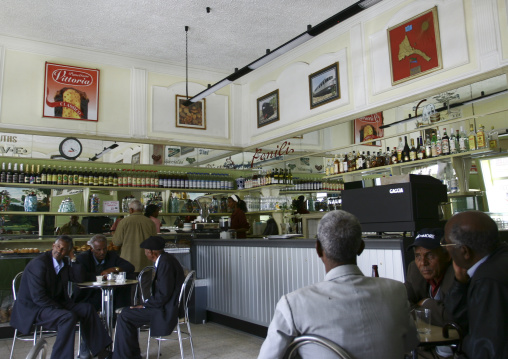 Bar In Asmara, Eritrea