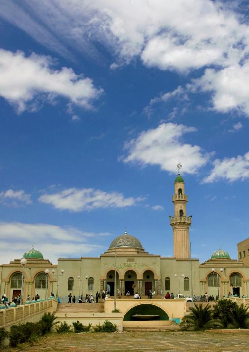 Grand Mosque Kulafa Al Rashidin In Asmara, Eritrea