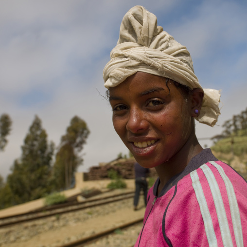 Girl From Arbaroba, Eritrea