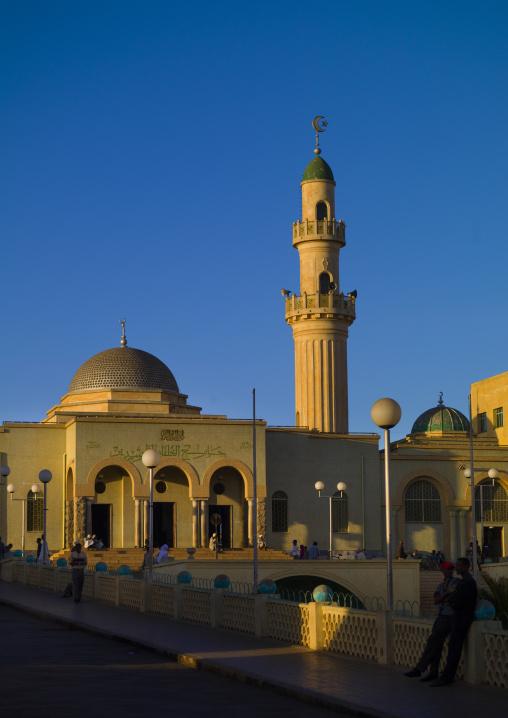 Eritrea, Horn Of Africa, Asmara, grand mosque kulafa al rashidin