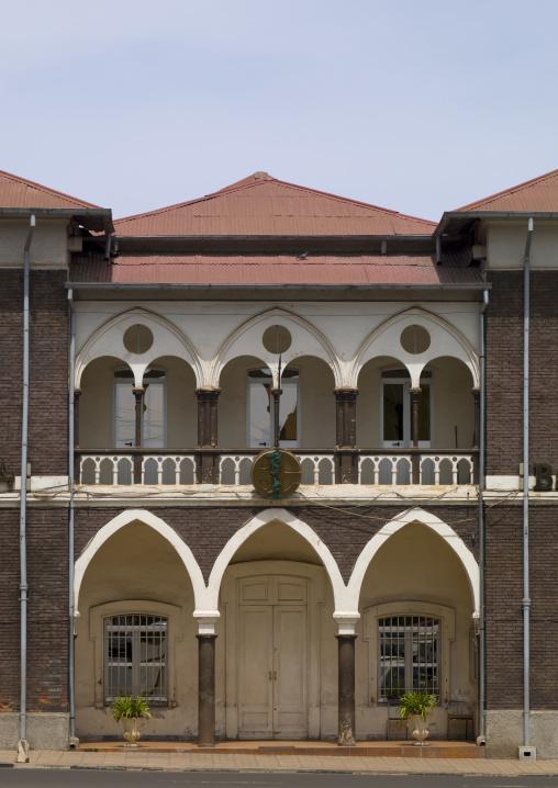 Bank Of Eritrea Building, Asmara, Eritrea