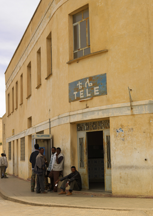 Dekemhare Post Office, Eritrea