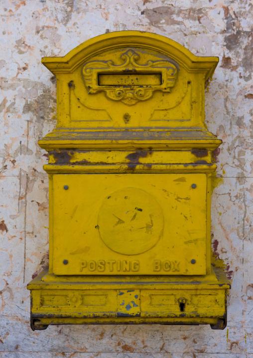 Letter Box From Englsih Colonial Times, Central region, Asmara, Eritrea