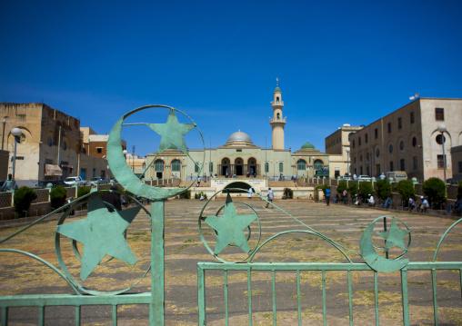 Grand Mosque Kulafa Al Rashidin, Central region, Asmara, Eritrea