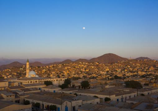 Overvoew Of The Town, Anseba, Keren, Eritrea