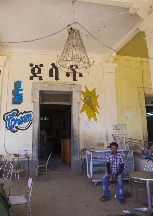 Bar In The Former Train Station, Anseba, Keren, Eritrea