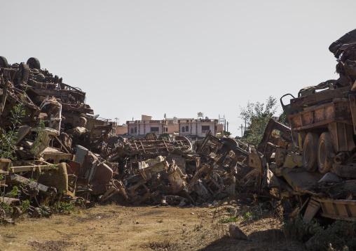 Luxury Villas In Front Of The Tank Graveyard, Central region, Asmara, Eritrea