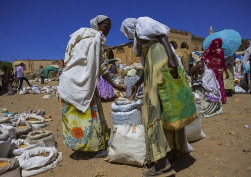Women In The Market Place, Debub, Mendefera, Eritrea