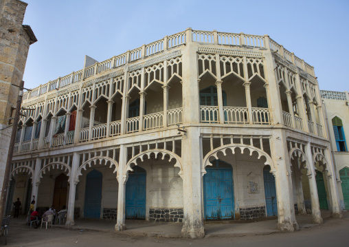 Ottoman Architecture Building, Northern Red Sea, Massawa, Eritrea