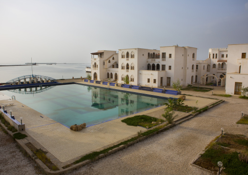 Pool In Dahlak Hotel, Northern Red Sea, Massawa, Eritrea
