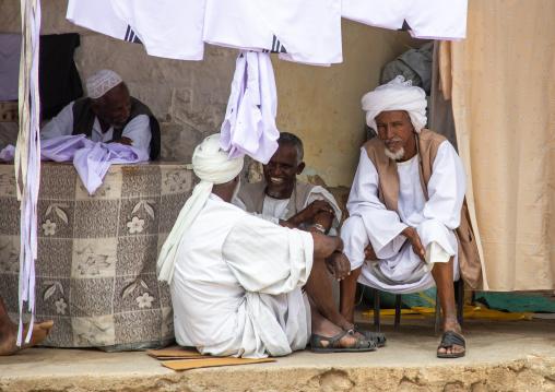 Eritrean men in the market, Semien-Keih-Bahri, Keren, Eritrea