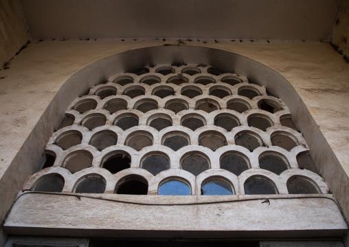 Dome inside the covered market built during the italian colonial era, Central region, Asmara, Eritrea