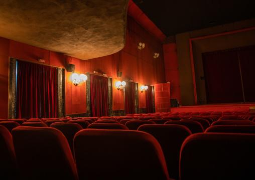 Inside impero cinema, Central region, Asmara, Eritrea