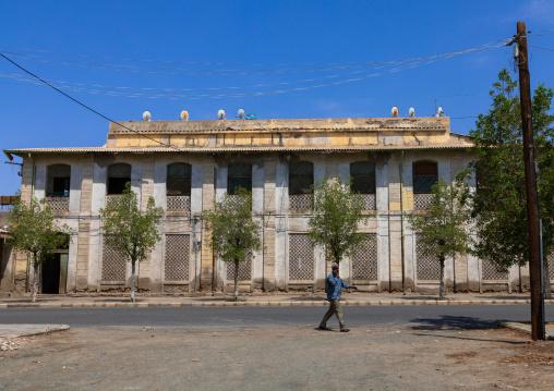 Old train station, Northern Red Sea, Massawa, Eritrea