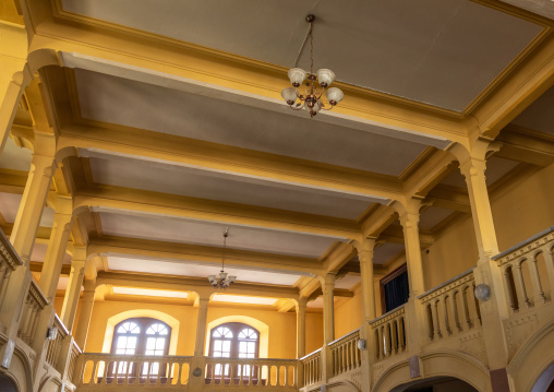 Inside the old opera house bar from the italian colonial times, Central region, Asmara, Eritrea