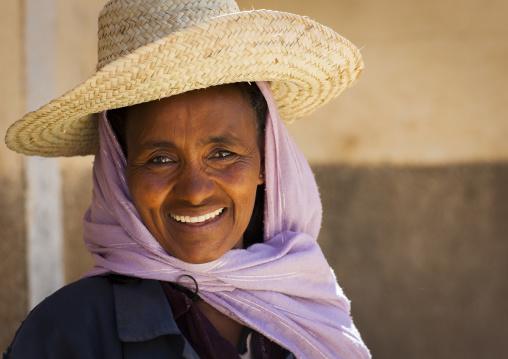 Woman With A Hat, Debub, Mendefera, Eritrea