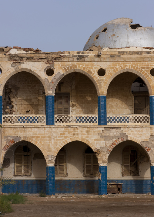 The Old Palace Of Haile Selassie, Northern Red Sea, Massawa, Eritrea