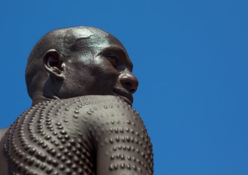 Topossa Man With Scarifications On His Body, Kangate, Omo Valley, Ethiopia