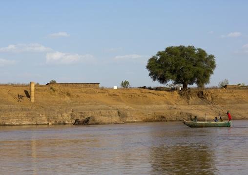 Omo River Banks, Kangate, Omo Valley, Ethiopia
