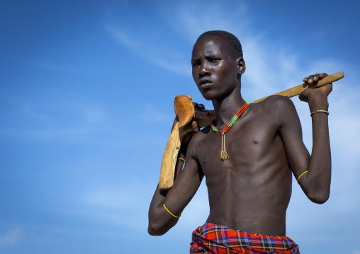 Mr Loyama Simila, Dassanech Tribe, Lokoro, Omo Valley, Ethiopia