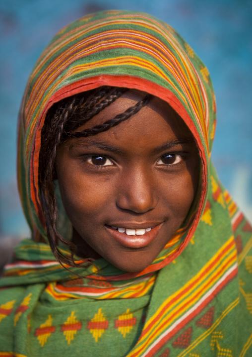 Afar Tribe Girl, Assayta, Ethiopia