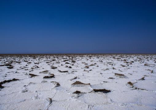 Salt mining in danakil depression, Afar region, Dallol, Ethiopia