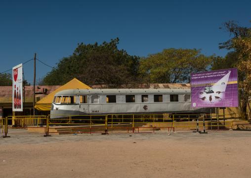 Old train in the station, Dire dawa region, Dire dawa, Ethiopia